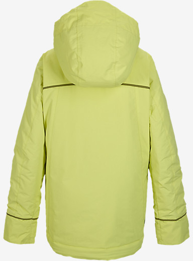 Burton Girls' Elodie Jacket shown in Sunny Lime