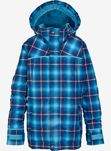 Burton Girls' Elodie Jacket shown in Flynn Plaid