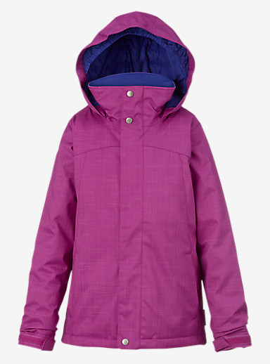 Burton Girls' Elodie Jacket shown in Grapeseed
