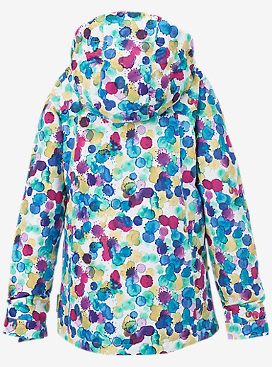 Burton Girls' Elodie Jacket shown in Rainbow Drops