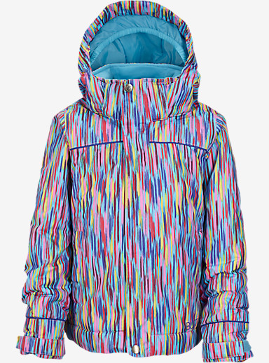 Burton Girls' Minishred Elodie Jacket shown in Taki Taki