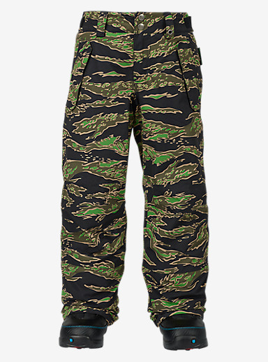 Burton Boys' Parkway Pant shown in Beast Camo