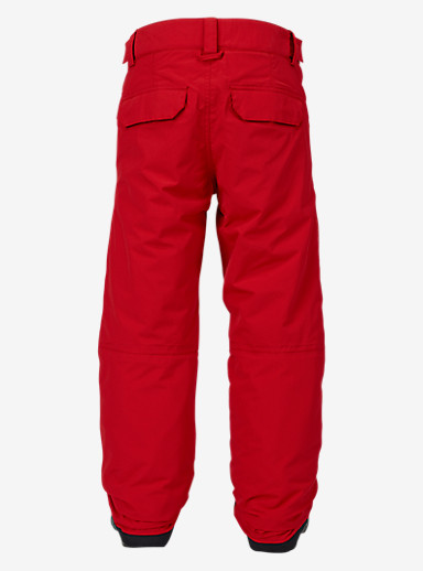 Burton Boys' Parkway Pant shown in Process Red