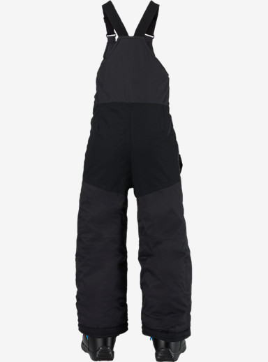 Burton Boys' Minishred Maven Bib Pant shown in True Black [bluesign® Approved]