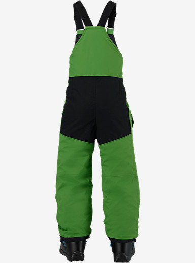 Burton Boys' Minishred Maven Bib Pant shown in Slime [bluesign® Approved]