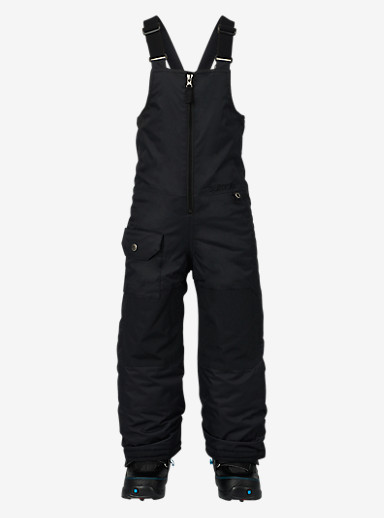 Burton Kids'' Minishred Maven Bib Pant shown in True Black
