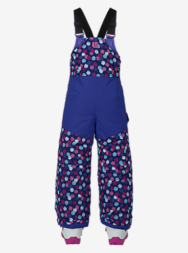 Burton Kids'' Minishred Maven Bib Pant shown in Ikat Dot