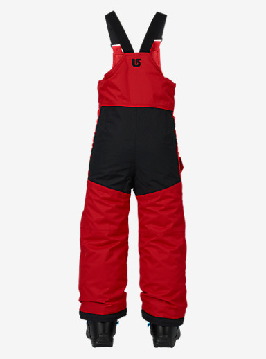Burton Kids'' Minishred Maven Bib Pant shown in Process Red