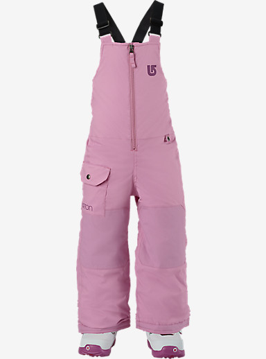 Burton Girls' Minishred Maven Bib Pant shown in Suga Suga [bluesign® Approved]