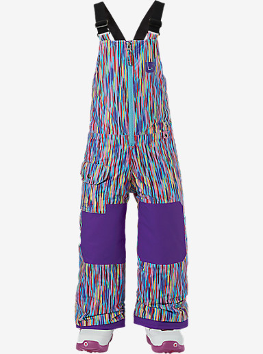 Burton Girls' Minishred Maven Bib Pant shown in Taki Taki
