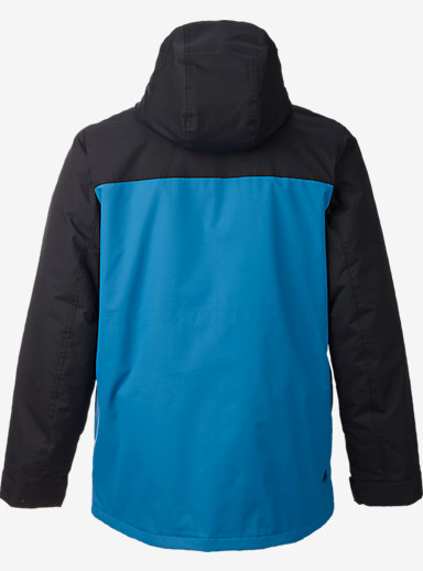 Burton Covert Jacket shown in True Black / Glacier Blue