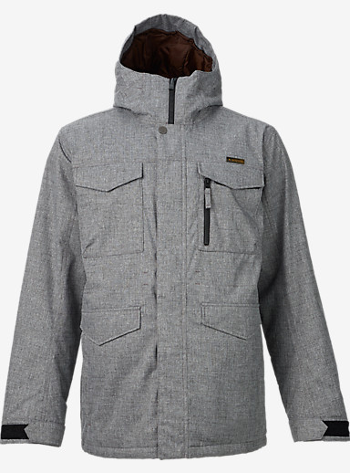 Burton Covert Jacket shown in Bog Heather