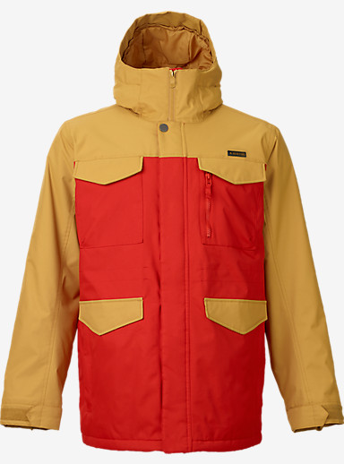 Burton Covert Jacket shown in Nomad / Burner