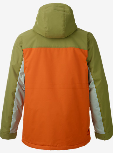 Burton Covert Jacket shown in Algae / Maui Sunset / Overcast