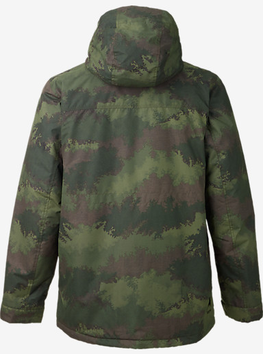 Burton Covert Jacket shown in Oil Camo