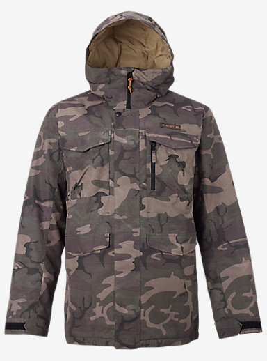 Burton Covert Jacket shown in Bkamo