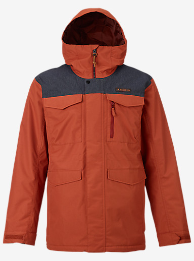 Burton Covert Jacket shown in Picante / Denim