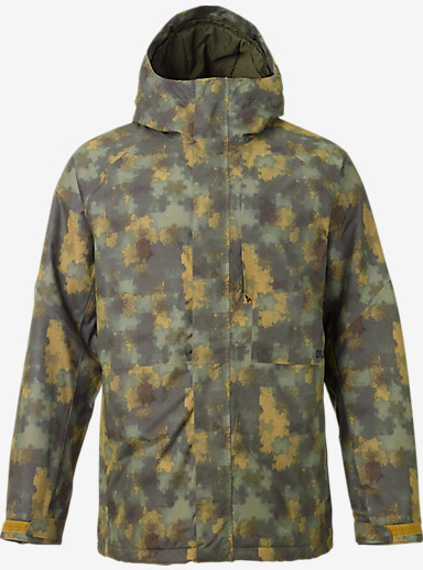 Burton Hilltop Jacket shown in Saw Camo