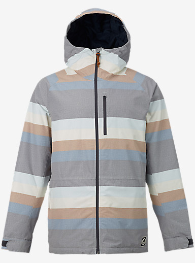 Burton Hilltop Jacket shown in Faded Stripe