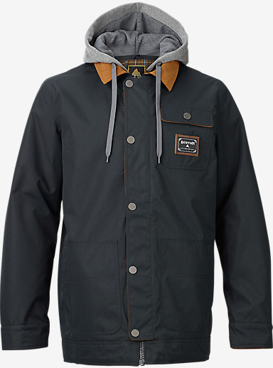 Burton Dunmore Jacket shown in True Black