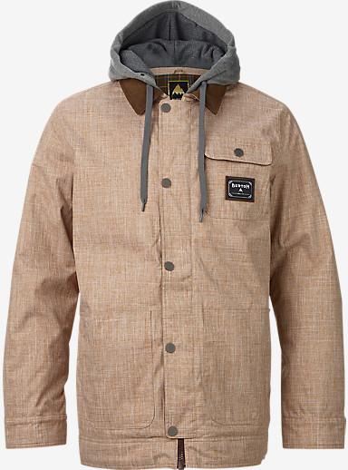 Burton Dunmore Jacket shown in Beaver Tail Melange