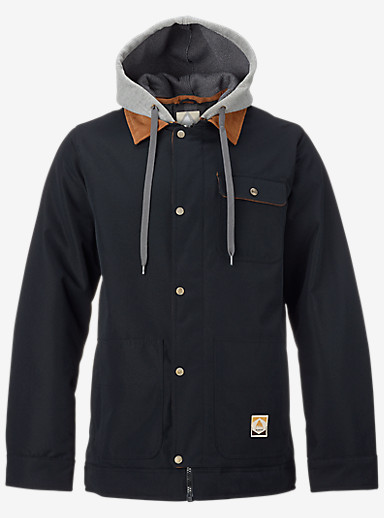 Burton Dunmore Jacket shown in True Black Oxford