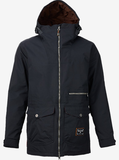 Burton Cambridge Jacket shown in True Black / 93