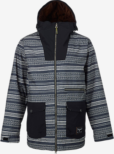 Burton Cambridge Jacket shown in Yarny / True Black