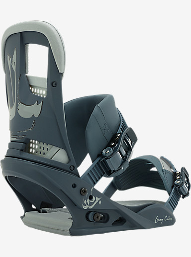 Burton Stay Calm Snowboard Binding shown in Blued Up