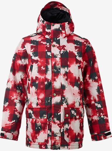 Burton TWC Greenlight Jacket shown in Bleachalo
