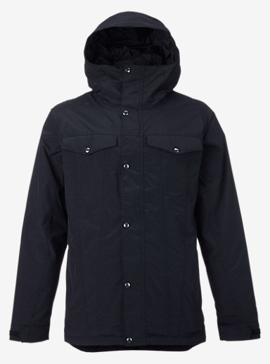 Burton TWC Greenlight Jacket shown in True Black