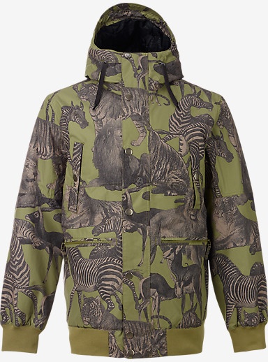 Burton TWC Primetime Jacket shown in Algae Safari