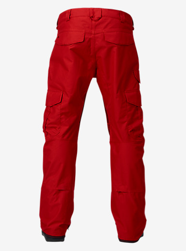 Burton Cargo Pant - Mid Fit shown in Process Red