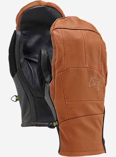 Burton [ak] Leather Tech Mitt shown in Adobe