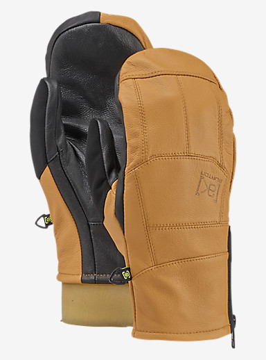 Burton [ak] Leather Tech Mitt shown in Raw Hide