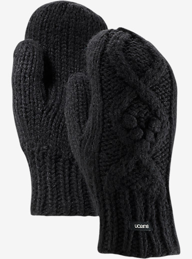 Burton Chloe Mittens shown in True Black