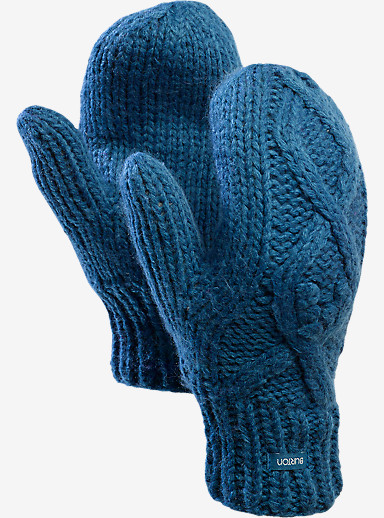 Burton Chloe Mittens shown in Pacific