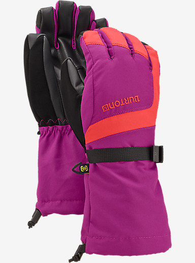 Burton Youth Grab Glove shown in Tropic / Grapeseed