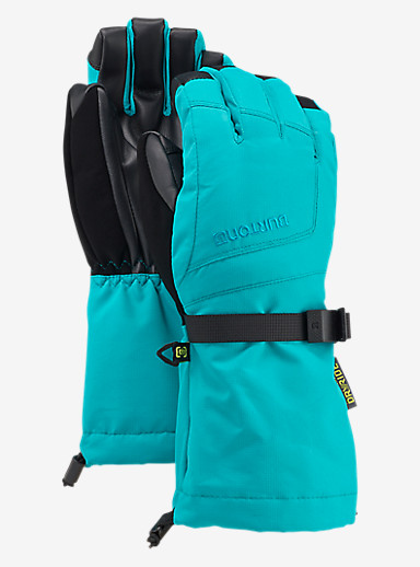 Burton Kids' Grab Glove shown in Everglade
