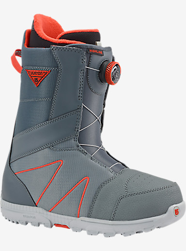 Burton Highline Boa® Snowboard Boot shown in Gray / Red