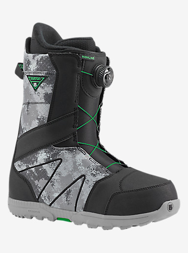 Burton Highline Boa® Snowboard Boot shown in Black / Gray