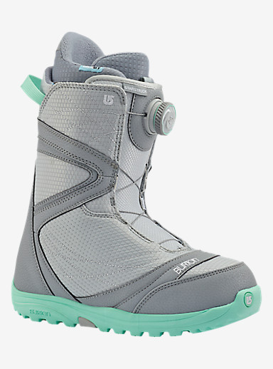 Burton Starstruck Boa® Snowboard Boot shown in Gray / Spearmint