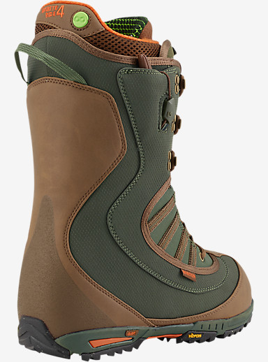 Burton Viking Snowboard Boot shown in Green / Brown