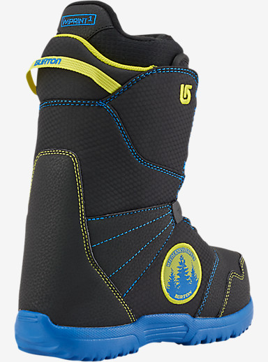 Burton Zipline Boa® Snowboard Boot shown in Black / Blue