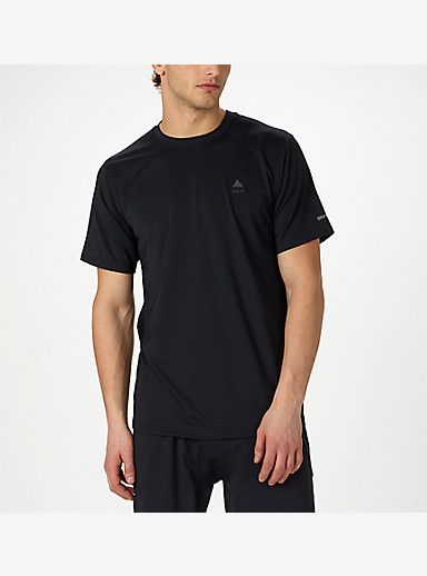 Burton Lightweight Tech Tee shown in True Black