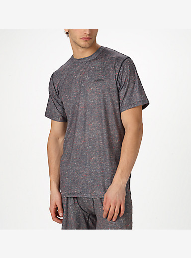 Burton Lightweight Tech Tee shown in Herringbone
