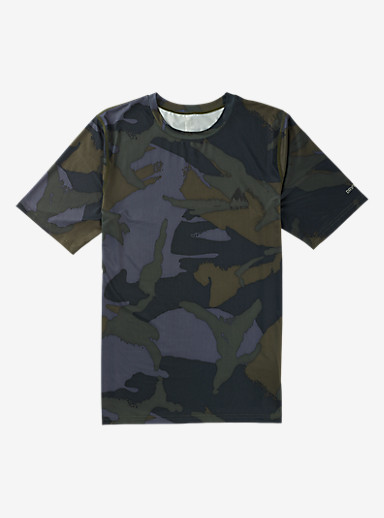 Burton Lightweight Base Layer Tee shown in Beetle Derby Camo