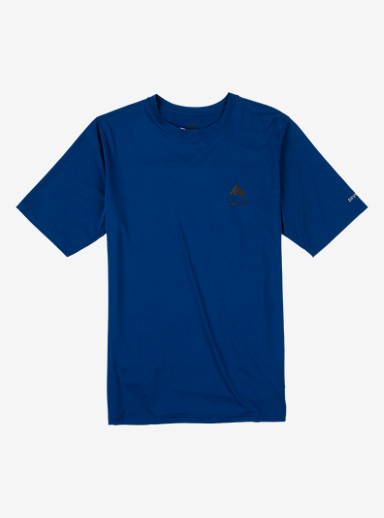 Burton Lightweight Base Layer Tee shown in True Blue