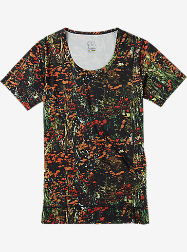 Burton Women's Lightweight Scoop Tee shown in Acid Flora