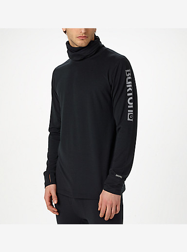 Burton Midweight Long Neck shown in True Black